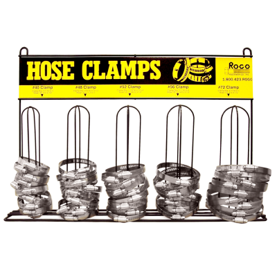 Hose Clamps & Rack